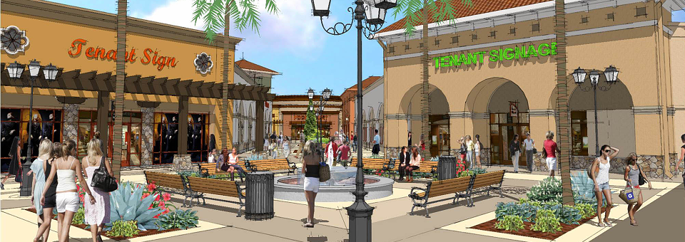 Construction Underway On The Outlets At Tejon Ranch