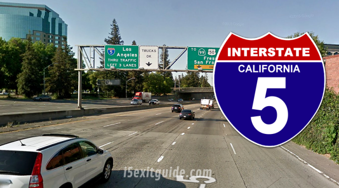 Ramp Closures, Detours for I-5 Construction in California