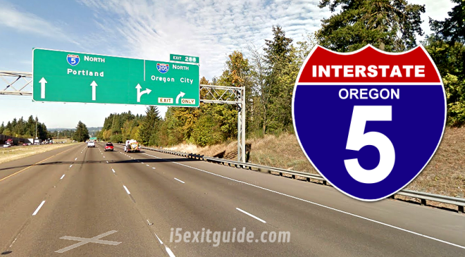 Weekend Night Closures on I-5 in Oregon