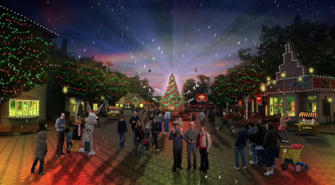 Celebrate Holiday in the Park at Six Flags Magic Mountain
