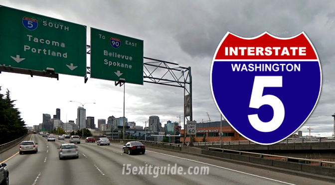 New Lane Construction Requires Closures on I-5 in Washington