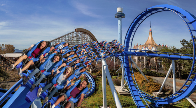 New Patriot Floorless Coaster To Open at California's Great America Saturday, April 1