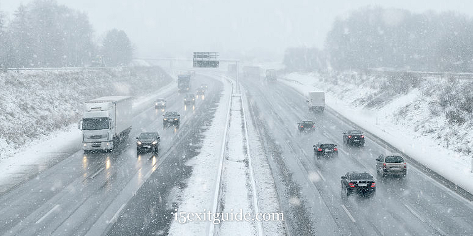 Expect Winter Driving on Oregon's I-5 Ahead